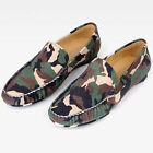 NEW Men's Casual Shoes Printed Cow Leather Soft Loafers Breathable Slippers 8181