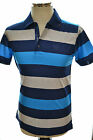 PAUL & SHARK YACHTING POLO E14P0064SF COL. 394 LINES  SLIM FIT