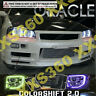 ORACLE For Nissan Skyline R34/GTR 98- 02 COLORSHIFT Headlight Halo Angel Eyes