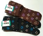 Japanese Mens Knit TABI SOCKS Unisex Larger Size Kamon Design Made in Japan