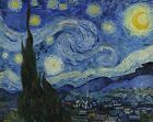 TIME4ART VINCENT VAN GOGH STARRY NIGHT CANVAS PRINT GICLEE ART WALL ALL SIZES