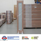 1 Lite Translucent Glass BiFold French Solid Timber Doors Hardwood Pantry Doors