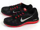 Nike Dual Fusion Run 3 MSL Sports Black/Metallic Silver-Challenge Red 653619-006
