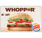 Burger King Gift Card - $25 $50 or $100 - Fast Email delivery