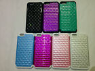 "IPHONE 6 PLUS (5.5"") HARD COVER LACE HYBRID STUDDED SPOT DIAMOND CASE"
