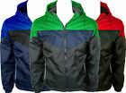 MENS HOODED WINDBREAKER WATERPROOF FLEECE LINED LIGHTWEIGHT JACKET TOP SALE