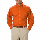 MEN'S LONG SLEEVE SHIRTS, POLYESTER/COTTON, TEFLON TREATED TWILL, Free Postage!