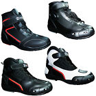 Mens Motorcycle Boots Waterproof Leather Motorbike Biker Touring Shoes / Boots