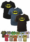 Mens Batman Tshirt Superhero Dark Knight Cotton Sizes Small-XXL Various Colours
