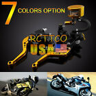 "For YZF ZZR ZX FZ 7 Color 7/8"" Master Cylinder Fluid Reservoir Levers Universal"
