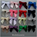 2 Cute Tied Satin Bow Hair clips (30mm)- you choose both colours!
