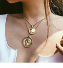 Fashion Charm Jewelry Pendant Chain Choker Chunky Statement Bib Collar Necklace
