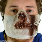 Face Mask Halloween Costume Fancy Stag Party Poizen Industries Zombie Mask Flesh