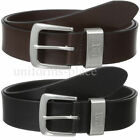 Caterpillar Leather Belt Mens 1 1/2 CAT Madison BLACK BROWN Belts Nickel Buckle