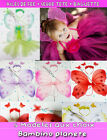 **EXCLUSIF SET DEGUISEMENT AILES DE FEE PAPILLONS FILLE FAIRY WINGS BABY GIRL **