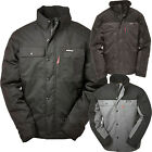 Caterpillar Jacket Mens CAT Insulated Twill Parka Hood Lined Jackets 1313004