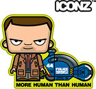 ICONZ CARTOON TEE SHIRT BLADE RUNNER HARRISON FORD DICK DECKARD RIPLEY SCOTT
