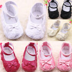 Baby Crib Shoes Size 0-12 months Anti-slip Soft Fit Girls Infant