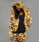 Adidas Obyo Jeremy Scott Golden Flower Down Jacket Coat M L  XL
