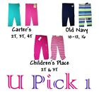 GIRLS CAPRI LENGTH LEGGINGS CHILDREN CLOTHES CUTE LONG PANTS BOTTOMS PLAYWEAR