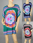 Sexy Lady Cocktail Party&Casual Colorful Flower Tank Top Blouse&Dress 6-14 5004
