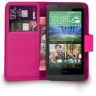 Premium Leather Case Flip Wallet Cover For HTC Desire 510 + Free Screen Guard