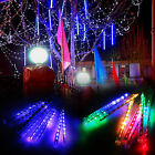 20/30/50CM 80/144/240LED Meteor Snowfall 8 Tubes Fairy String Lights Christmas