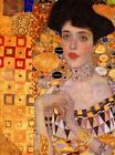 Gustav Klimt - Adele  Stretched Canvas Wall Art Poster Print Painting Artist