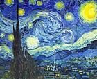 Vincent Van Gogh Starry Starry Night Canvas Wall Art Poster Print Painting