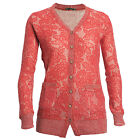 Stylish Lace Acrylic Wool  Front Pockets Winter Wear Cardigan for Ladies