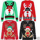 BRAND NEW LADIES WOMENS MENS UNISEX CHRISTMAS XMAX FESTIVAL JUMPER SWEATER TOP