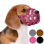 Beagle Dog Muzzle Leather Black Brown Pink Grey Spaniel Small Puppies