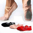 A Pair Of Woman Child Colorful Dancing Bridle Slippers Shoes Ballet Sz 8.5-4.5UK