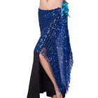 Newest Belly Dance Costume Hip Scarf Belt Wrap Skirt Shinning Sequins