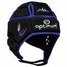 OPTIMUM Tribal Rugby Headguard Scrum Cap - Black / Blue