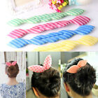 Fashion Girl Hair Accessories Updo Hair Sponge Colorful Hair Disk For Women Lady