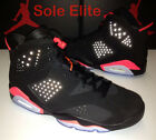 NEW DS 2014 Nike Air Jordan Retro 6 VI BLACK INFRARED Sizes 9, 9.5, 11, 12, 15
