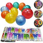 Birthday Party Decorations Pack Set Balloons Banner Supply Happy Fun Celebration
