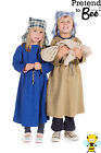 Christmas Nativity Play Mary Joseph fancy dress BNWT 3-7yrs Stable Scene Costume