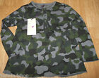 Stella McCartney girl top t-shirt 3-4 y BN New designer camo