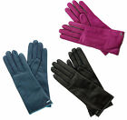 COACH Women's Cashmere Lined Leather Basic Glove 6.5 Blac...