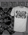 John Entwistle Rock T-Shirt - The Who - Rickenbacker Bass - Scoop V-Neck Raglan