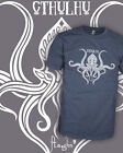 Cthulhu v1 - Call of Cthulu - Dagon - Vintage Lovecraft Shirt Scoop VNeck Raglan