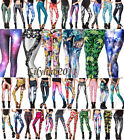 Hot Sexy Printed Leggings Anime Costume Cosmos Corpse Frozen Sports Christmas