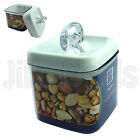1L AIR TIGHT FOOD STORAGE CONTAINER PLASTIC DURABLE KITCHEN MICROWAVE SAFE BOX