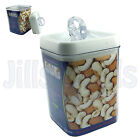 1.7L AIR TIGHT FOOD STORAGE CONTAINER ROUND SQUARE STACKABLE MICROWAVE SAFE