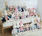 PLUSH BUNNY TOY DOLL 40cm tall baby sleeping cushion CLEARANCE