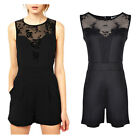 Sexy Celeb Womens Playsuit Party Lace Backless Evening Summer Dresses Jumpsuit