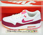 Nike Wmns Air Max 1 Essential White Firberry Pink Orange 599820-112 US 6~8.5 NSW