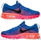 NIKE FLYKNIT AIR MAX WOMENs MESH M RUNNING GYM RED PINK BLACK MANGO NEW